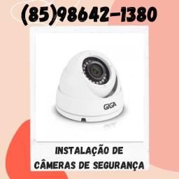 Título do anúncio: Câmeras de segurança - Instalação de câmeras de segurança