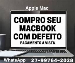 MacBook e todos os produtos da Apple -> Apple Mac -> Compra.