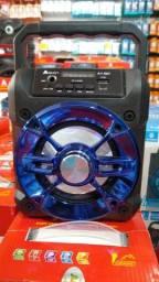 Título do anúncio: Caixinha de Som Bluetooth A1-007