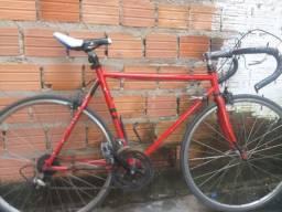 Bicicleta speed vermelha, Caloi 10 garfinho