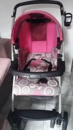 Carrinho de Bebê Burigotto todo completo