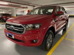 Título do anúncio: Ford Ranger XLS 2.2 Diesel 2021 Vermelha 12.800km Único dono