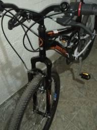 Título do anúncio: bike houston com nota leia