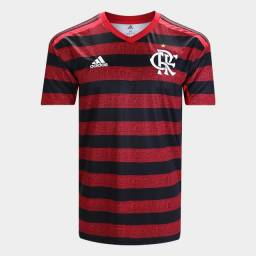 Camisa Flamengo S/nº Rubro Negra 2019 Torcedor