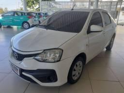 Etios x sedan 1.5 automático 2018
