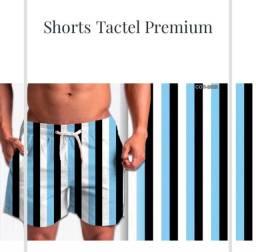 Shorts tactel estampado