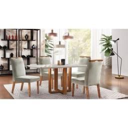 Título do anúncio: Conjunto mesa 4 cadeiras comprado Rio decor excelente desconto avista
