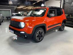 Jeep Renegade Trailhawk 2.0 Turbo Diesel 4WD Câmbio Automático 2016 Baixa Quilometragem