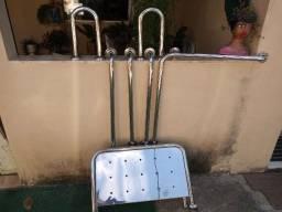 Título do anúncio: Barra de Apoio de Inox pra Banheiro novo nunca foi usado
