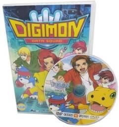 Box Dvd Anime Digimon 5 Data Squad Savers Dublado Completo Dublado
