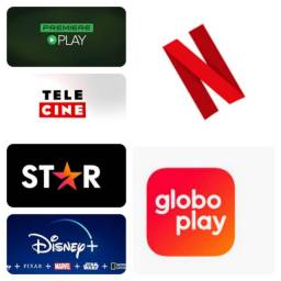 Título do anúncio: Netflix Globo Play Disney Plus