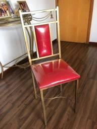 Título do anúncio: Oportunidade Cadeiras de metal forró em tecido