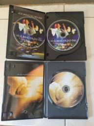 Título do anúncio: 5 DVDs Diante do trono + 11 cds evangélicos