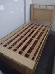 Título do anúncio: Bicama solteiro com cama auxiliar  MDF