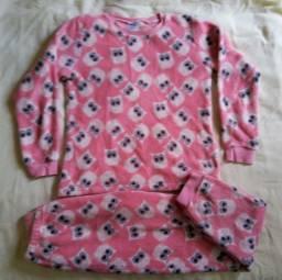 Pijama em soft T.10 anos  seminovo