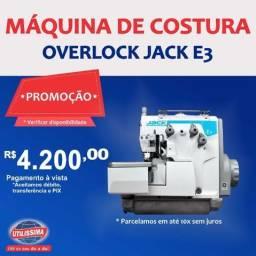 Máquina de costura overlock Jack E3? Entrega Grátis