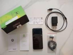 Título do anúncio: Motorola moto G6 Play (tela trincada)