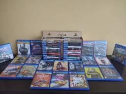 Jogos PS4, PS3 e PSVR mídia física Rodhia Games