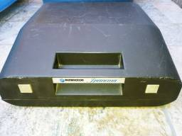 máquina de escrever datilografia remington ipanema core creme e café vintage<br><br>