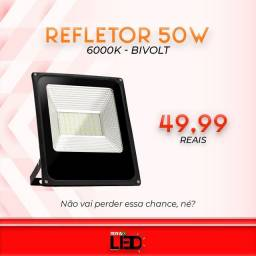 Título do anúncio: Refletor 50w
