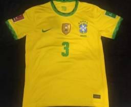 Título do anúncio: Camisa do Brasil #3 Thiago Silva (modelo torcedor)