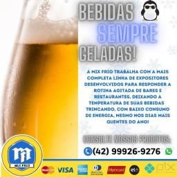 Venha conferir e garantir sua  expositora de bebidas!