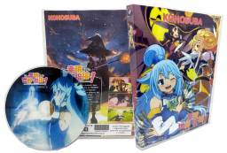Box Dvd Konosuba + Re Zero + Death March + Akashic Record +1