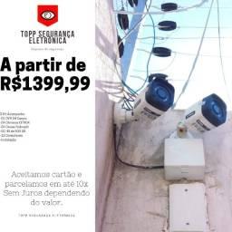 Título do anúncio: KIT 04 Câmeras Citrox a partir de R$1399,99 instalado!