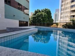 WANY20 - Apartamento à venda, Mobiliado, 3 quartos, sendo 1 suíte, lazer, Boa Viagem