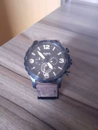 Relógio Fossil pulseira de couro