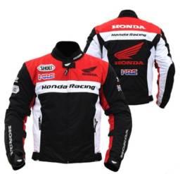 Título do anúncio: Jaqueta Honda Racing Motociclista Respirável Protetores Eva