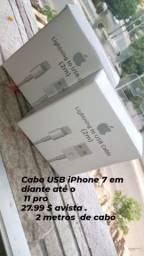 Cabo Usb iphone ( 2 Metros )