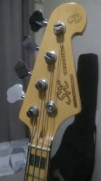 Contra Baixo Sx Jazz Bass Vintage Handmade Custom + Estojo Case