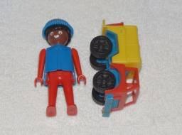 Brinquedos Antigos: Playmobil Trol E Caminhão Mitroplast.