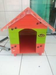 Título do anúncio: Vendo essa linda casinha de cachorro Nova