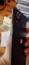 Título do anúncio: Samsung A12 - Nota fiscal e 01 ano garantia