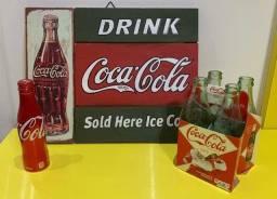 Título do anúncio: Retrô Coca Cola Kit