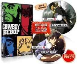 Box Dvd Cowboy Bebop Completo Hd + Filme Legendado