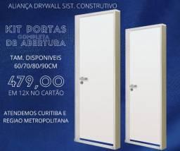 Título do anúncio: Oferta Kit portas completa para Drywall