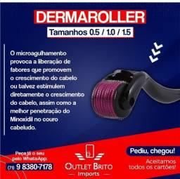 Microagulhas  - tamanhos 0.5 - 1.0 - 1.5 - 2.0 -  Dermaroller