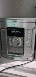Sony Mhc RG111 com defeito