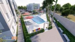 Apartamento com 2 dormitórios à venda, 44 m² por R$ 117.000 - Residencial Novo Horizonte -