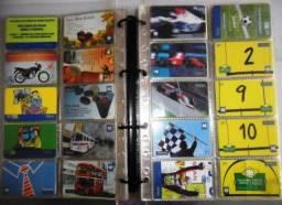Cartões telefônica para coleçionadores