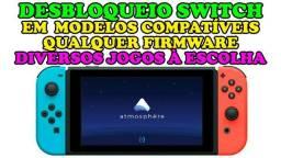 Des Trave e Jogos Nintendo Switch CFW Atmosphere Jogos na Memória ou Cartão SD