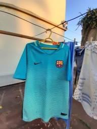 Camisa nike infantil do barcelona