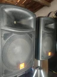 Caixas Ativas JBL Auto falantes de 15