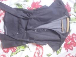 Blusa social jeans