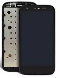 Display Tela Lcd Touch Moto G1 / com Garantia