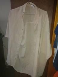 Camisa social branca de manga curta comprado na Cia do Terno 75d53889050c1