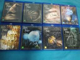 Coleção BluRay Harry potter 8 filmes